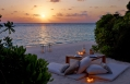 Romantic Private Beach Dining. Dusit Thani Maldives. © 2010 Dusit International