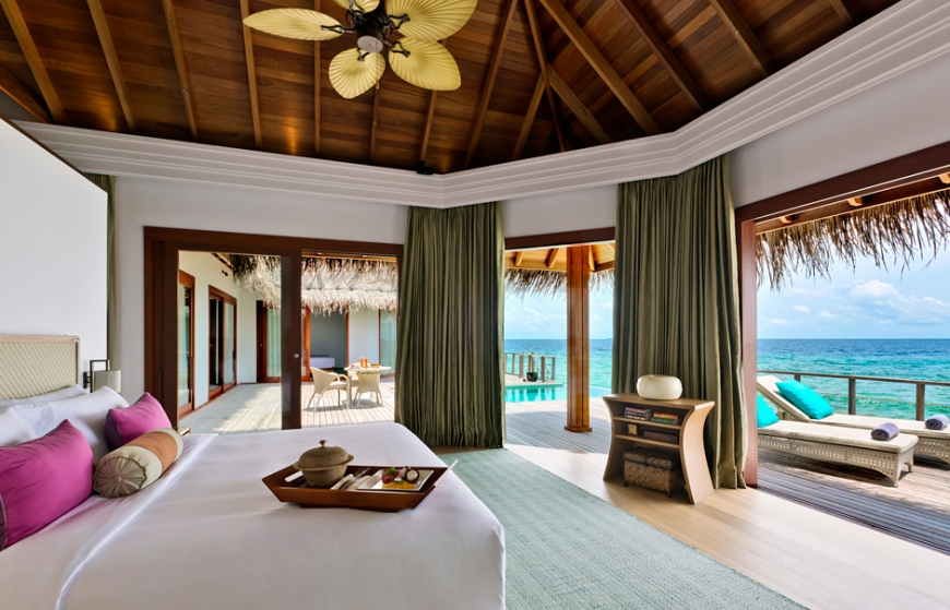 Residence Water Villa. Dusit Thani Maldives. © Dusit International