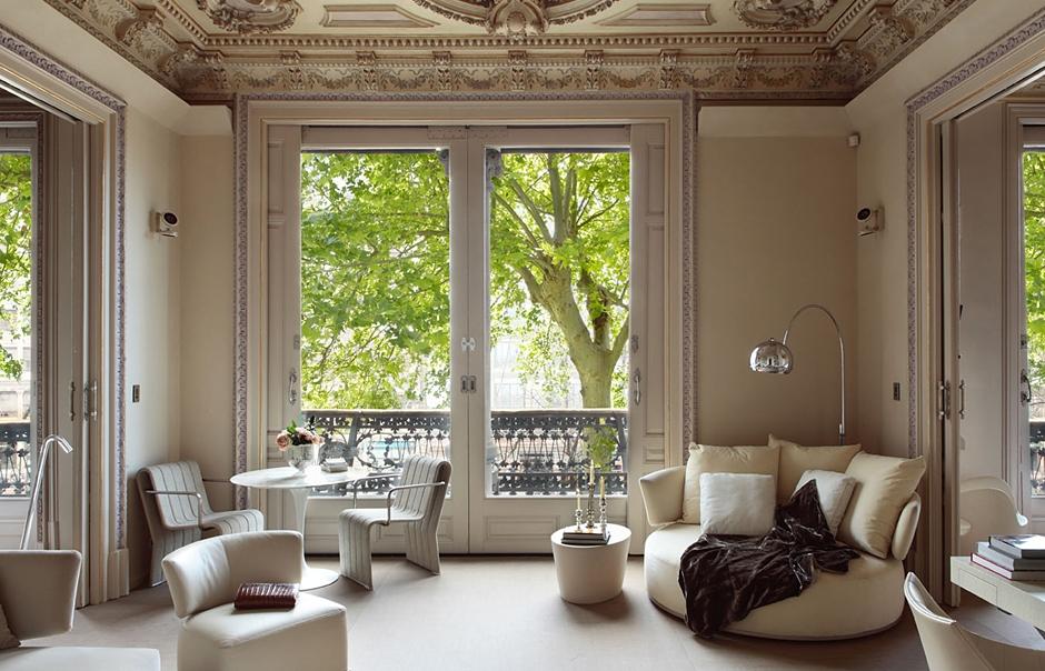 Modernista Suite. El Palauet Living Barcelona. © El Palauet Living Barcelona