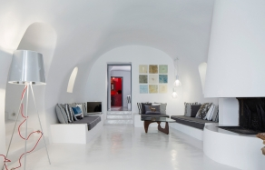 Alta Vista Luxury Honeymoon Suites | Imerovigli, Santorini. TravelPlusStyle.com