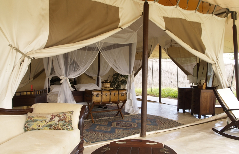 Tent. Cottar's 1920s Safari Camp © Copyright Cottar's