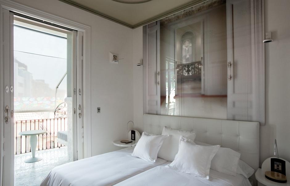 Mezzanine Tibidabo Suite. El Palauet Living Barcelona. © El Palauet Living Barcelona
