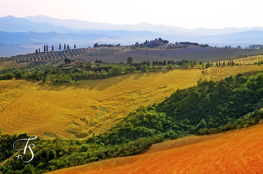 Tuscan Landscape © Travel+Style