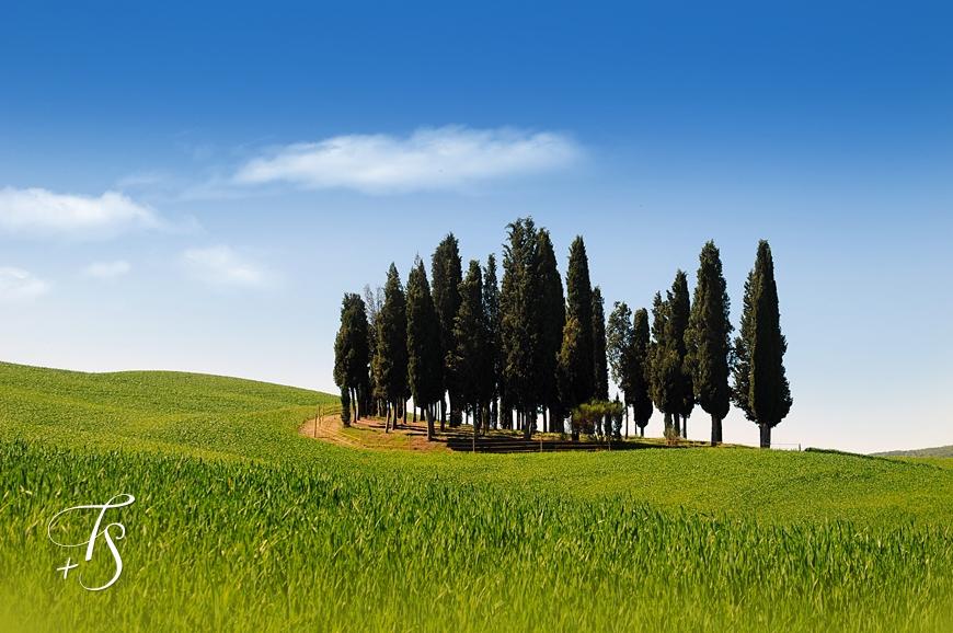 Tuscany Landscape © Travel+Style