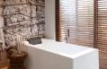 Caprivi Suite bath. The Olive Exclusive, Windhoek. © Big Sky Namibia