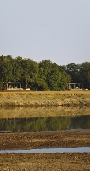 View. Chinzombo Camp, Zambia. travelplusstyle.com