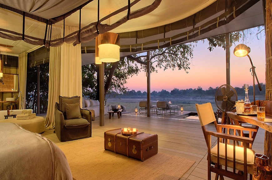 View. Chinzombo Camp, Zambia. travelplusstyle.com