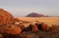 Camp Aerial. Wolwedans Boulders Camp, Namibia. © Wolwedans