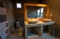 Bathroom, Little Kulala, Sossusvlei, Namibia. © Wilderness Safaris