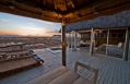 Private deck with plunge pool, Little Kulala, Sossusvlei, Namibia. © Wilderness Safaris