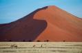 Big Daddy Dune in Sossusvlei. Little Kulala, Sossusvlei, Namibia. © Wilderness Safaris