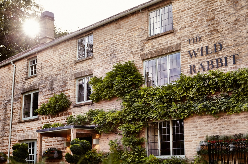 The Wild Rabbit in Kingham. travelplusstyle.com