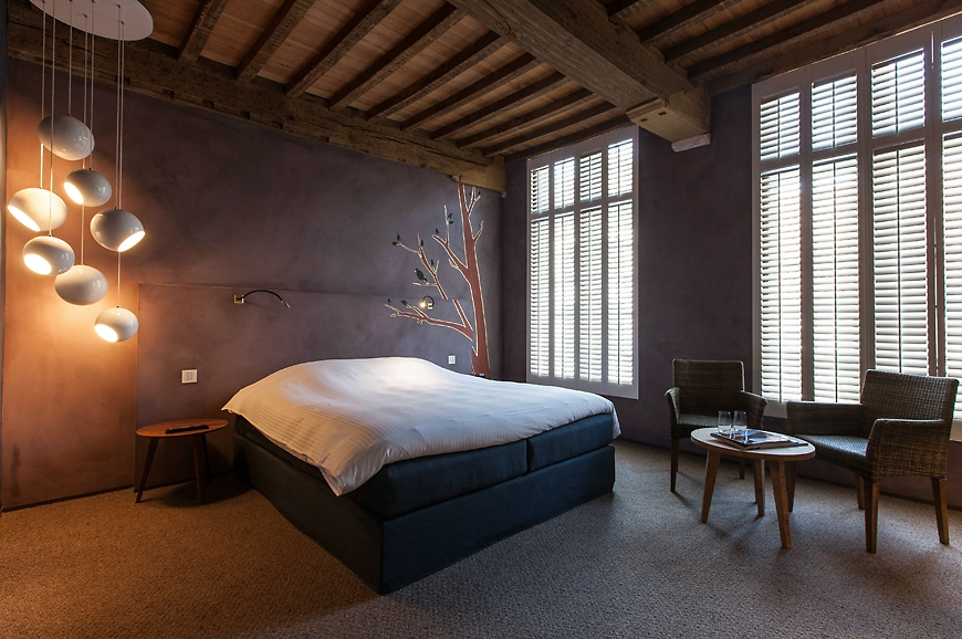 La Suite Sans Cravatte, Bruges, Belgium. travelplusstyle.com