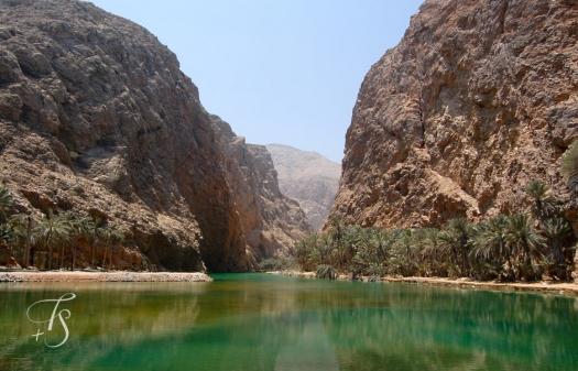 Wadi Shab, Oman. © Travel+Style