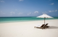 Beach lounge. Parrot Cay by COMO, Turks & Caicos. © COMO Hotels and Resorts