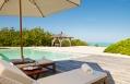 Villa pool deck. Parrot Cay by COMO, Turks & Caicos. © COMO Hotels and Resorts
