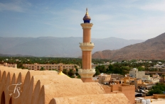 Nizwa Fort, Oman. © Travel+Style
