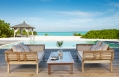 Villa pool deck. Parrot Cay by COMO, Turks & Caicos. © COMO Hotels and Resorts