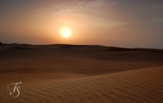 In the Oman Desert. © Travel+Style