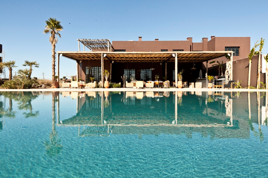 Fellah Hotel, Marrakech, Morocco. TravelPlusStyle.com