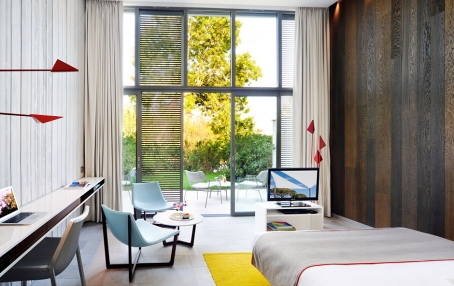 Hotel Sezz Saint Tropez, France. © Cocoon Room. Hotel Sezz Saint-Tropez, photo by Manuel Zublena