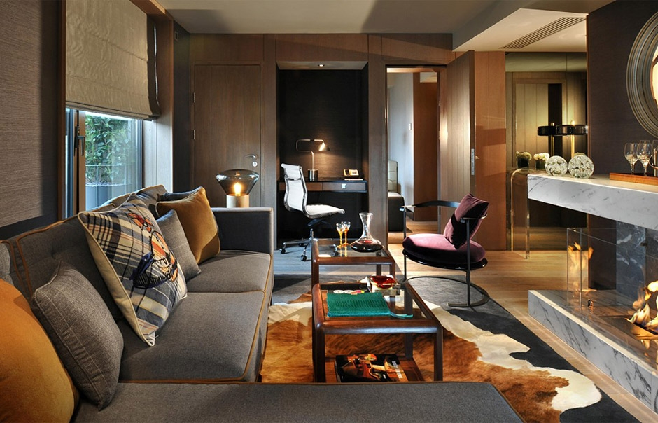 Penthouse. Belgraves, London, UK. © Thompson Hotels