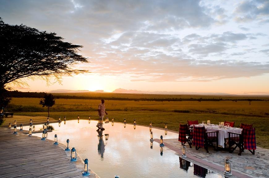 Kichwa Tembo Tented Camp, Kenya. TravelPlusStyle.com
