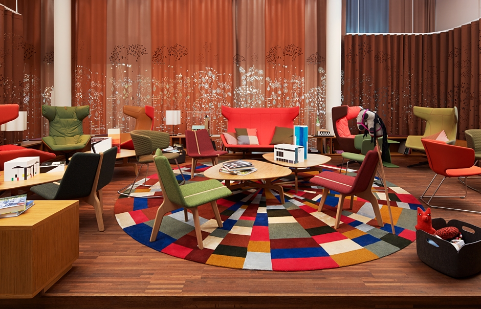 Living Room. 25hours Hotel Zurich West, Switzerland. © 25hours Hotels