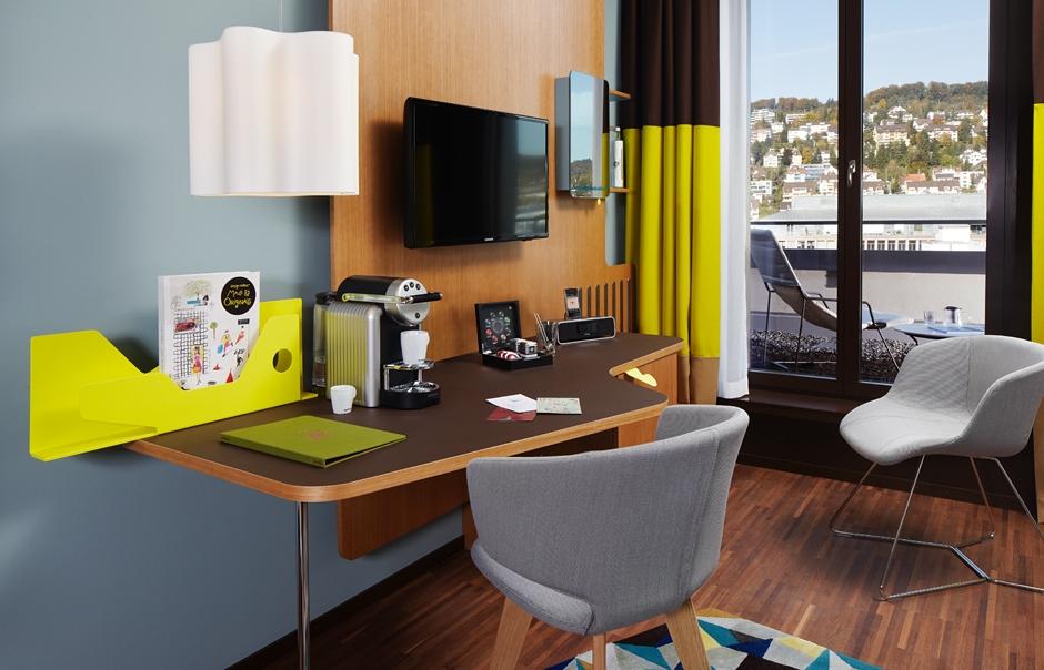 Platinroom. 25hours Hotel Zurich West, Switzerland. © 25hours Hotels