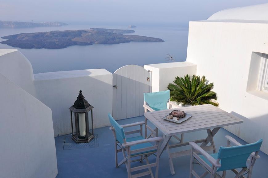 Villa Gaia, Santorini, Greece. TravelPlusStyle.com