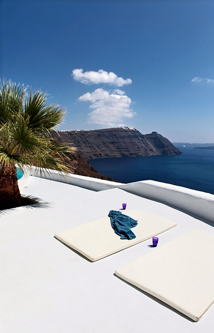 Architect's House Santorini, Greece. TravelPlusStyle.com
