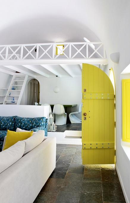 Architect's House Santorini, Greece. TravelPlusStyle.com