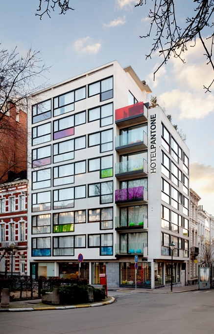 Pantone Hotel - Brussels. TravelPlusStyle.com