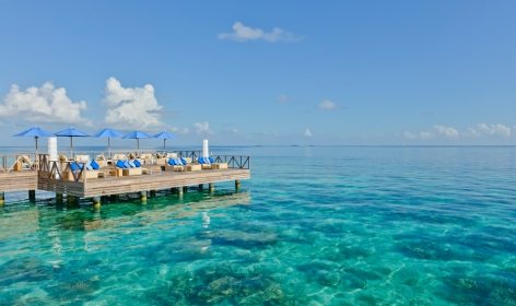 Raw Bar. Huvafen Fushi Maldives. © Per AQUUM