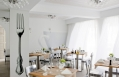 Restaurant. Mykonos Grace Hotel. © Grace Hotels Limited