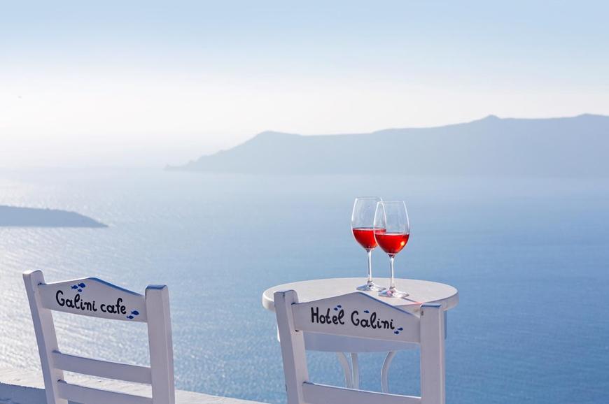 Galini Villas, Santorini. TravelPlusStyle.com