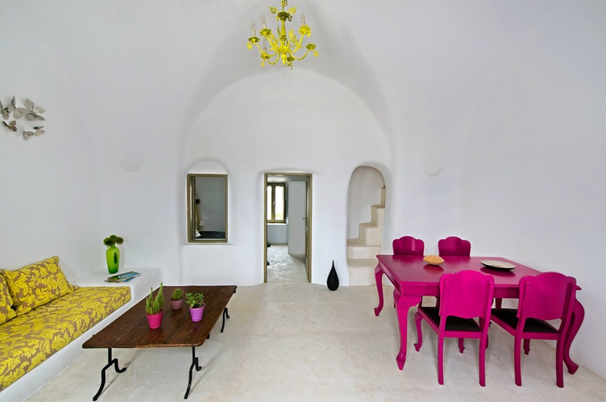 Small Architect's House Santorini. TravelPlusStyle.com