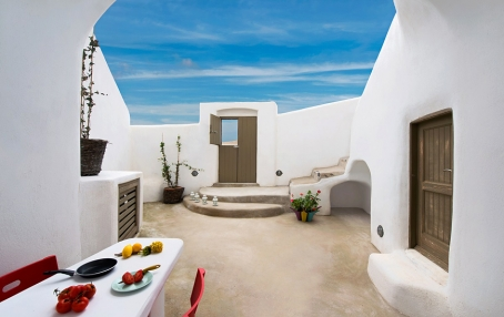 Small Architect's House Santorini. TravelPlusStyle.com