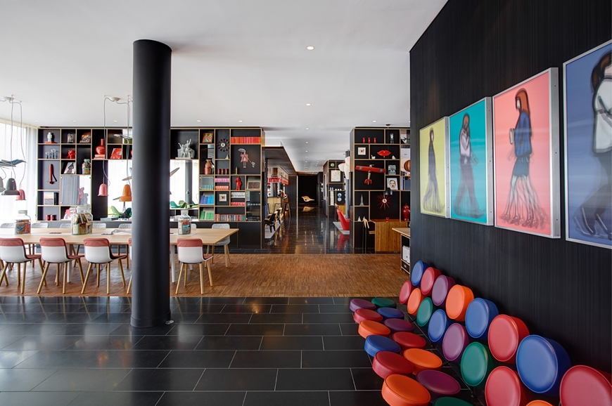 design hotel citizenm london, new citizenm hotel in paris is open « luxury hotels travelplusstyle, Design ideen