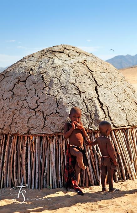 Himba Village, Namibia. TravelPlusStyle.com