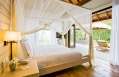 Garden Suite bedroom. Maalifushi by COMO, Maldives. © COMO Hotels & Resorts