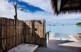 Water Villa outdoor shower. Maalifushi by COMO, Maldives. © COMO Hotels & Resorts