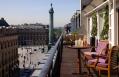 Vendôme Suite balcony. Park Hyatt Paris-Vendome, Paris, France. © Hyatt Corporation