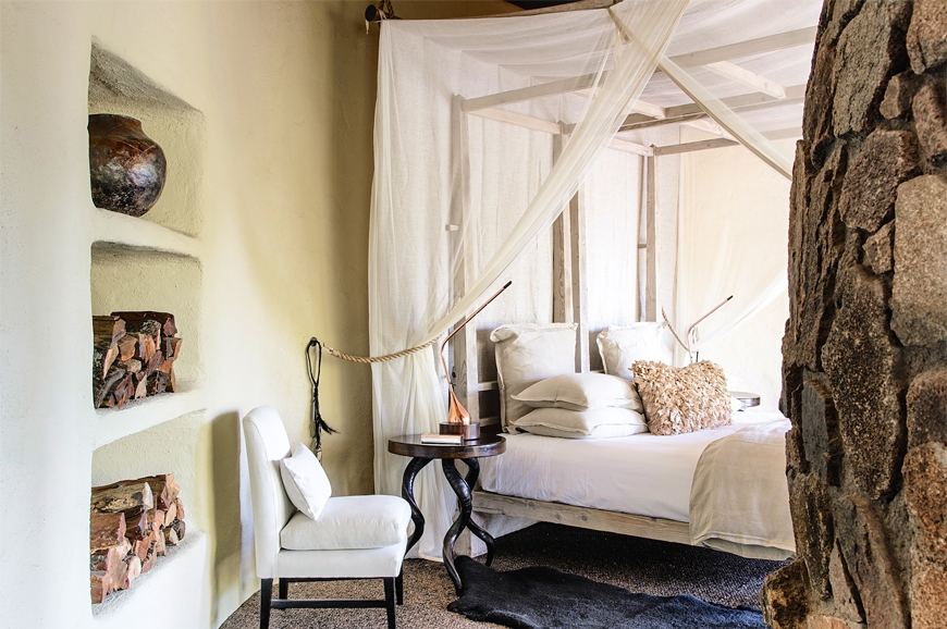 Singita Boulders Lodge, South Africa. TravelPlusStyle.com