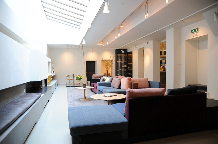 From garish to swanky sp34 gets a gorgeous scandinavian for Swanky hotel