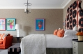 Deluxe Room. Ham Yard Hotel London. © Firmdale Hotels