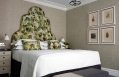 Luxury Room. Ham Yard Hotel London. © Firmdale Hotels