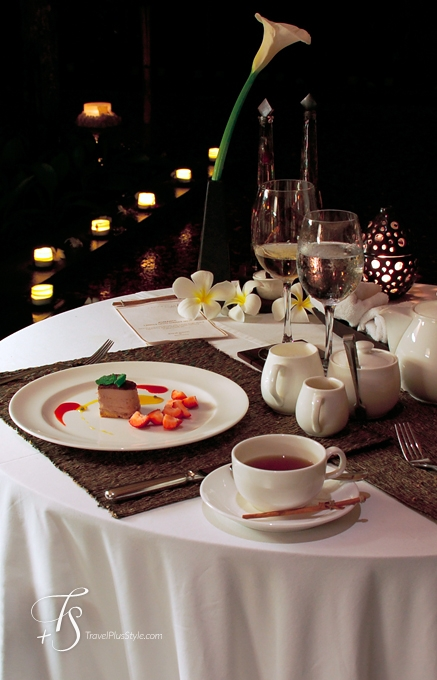 Romantic Candle Dinner Experience. © Travel+Style