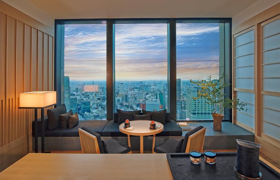 Aman Tokyo - Aman Suite. TravelPlusStyle.com
