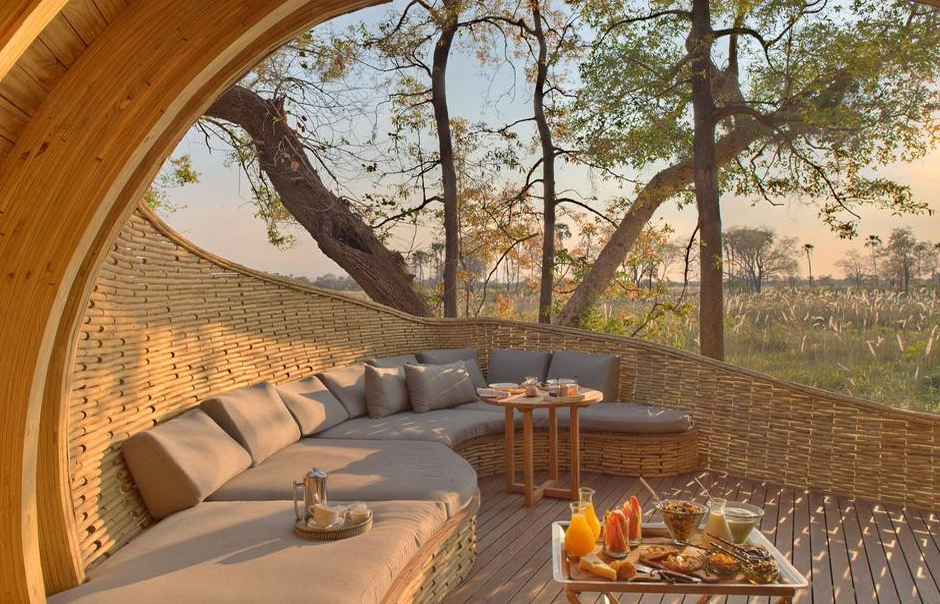 andBeyond Sandibe Okavango Safari Lodge. TravelPlusStyle.com